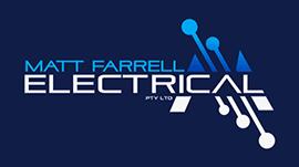Matt Farrell Electrical - logo